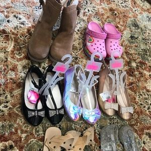 UGGs/Childrens Place Girls Shoe Lot 13/1